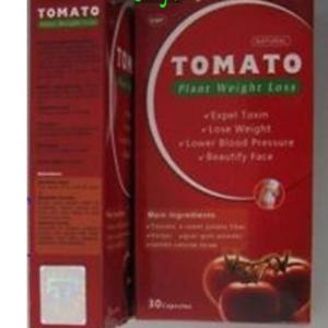 China Natural Tomato Plant Weight Loss Tomato - 1 Box = 30 Pills - Herbal Natural Plant Slim Weight Loss Diet Capsules on sale