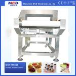 Conveyor Belt Tunnel Metal Detector For Biscuits / Bread / Burger / Confectionery