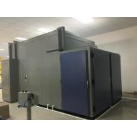 19m³ double door  walk-in chamber and humidity chamber with Open φ100mm hole in the left side