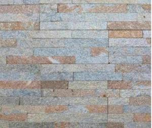 China Garden House Cultured Stone Panels , Stone Veneer Panels Front Wall Tiles on sale