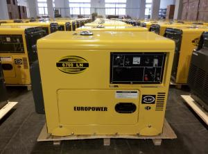 China Weatherproof Soundless Silent Electric Generator Set Low Fuel Consumption on sale