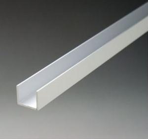 China Anodized Aluminum U Channel Extrusions / aluminium frame profiles on sale