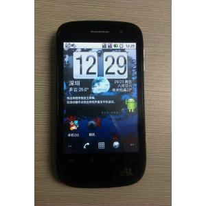 China Gsm quad band Android 2.2 dual sim dual standby smartphone with GPRS, FM radio, bluetooth  on sale