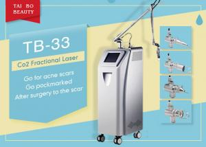 China High Energy 10600nm Fractional CO2 RF Laser Equipment For Scar Removal Dermatology Treatment on sale