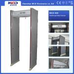 Detector de metales impermeable de la arcada del tablero zonas de detección de la talla 6 del túnel de 200 * 70 * 56 cm