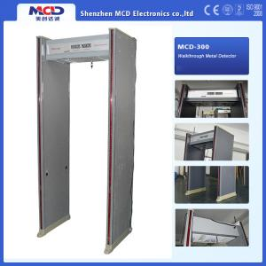 China Waterproof 6 zones Walk through Metal Detector With remote controller on sale