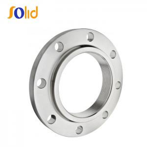 China ANSI b16.5 Raised Face Slip On Stainless Steel Pipe Flanges on sale