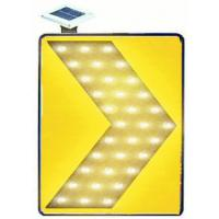 Super Bright LED Solar Traffic Signs Chevron Light With 3M HI Reflective Film