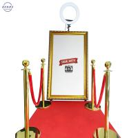 China Great Sale Touch Screen Cheap Selfie Station Portable Magic Mirror Photo Booth on sale