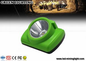 China Portable Green Gemany Bayer LED Mining Light 6.2Ah 3.7V 18650 li ion battery on sale