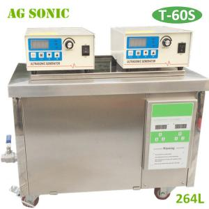 China Commercial Industrial Ultrasonic Cleaner 264L / Ultrasonic Washing Machine 3000W Power on sale