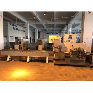 China Fully Automatic Noodles Making Machine Full Servo Three Side Sealing on sale