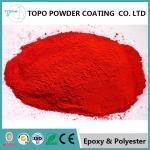 Polyurethane Mirror Chrome Powder Coat, RAL 1007 Color Rough Powder Coating