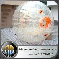 Clear inflatable human ball