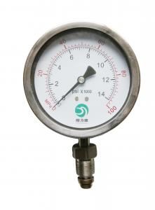 China mechanical pressure gauge on sale