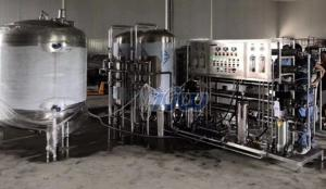 China Industrial RO Reverse Osmosis Pure Water Purification UV Machine on sale