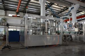 China AUTOMATIC CARBONATED SOFT DRINK (CSD) BOTTLING MACHINE on sale