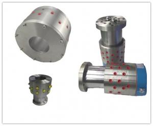 China Equal Shape Air Hydraulic Rotary Union Joints Flange Connection Replace Deublin 1500 KJC Eaton on sale