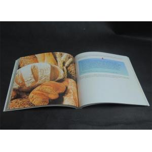 China Eco-friendly Bright coloured Cookbook Printing services , Recipe Book Printing on sale