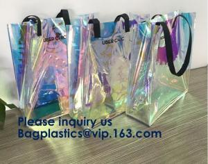 China Fashion Neoprene Shopping Beach Tote Bag, Custom Waterproof Outdoor Beach Bean Bag, Promotional Clear Beach Bag on sale