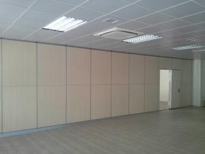 China Residential Movable Partition Walls Top Hanging System Without Floor Track on sale