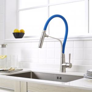 China Color Customization 360 Degree Rotatable Pvc Flexible Hose Pipe For Stainless Steel 304/316 Kitchen Faucet on sale