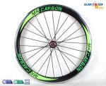 China 6061 T6 Aluminum Alloy Rim Bicycle Wheel / 24 Inch Road Bike Wheels wholesale