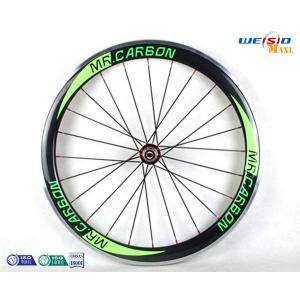 China 6061 T6 Aluminum Alloy Rim Bicycle Wheel / 24 Inch Road Bike Wheels on sale