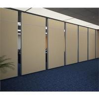 MDF Bi Fold Doors Flexible Folding Partition Walls Interior Position