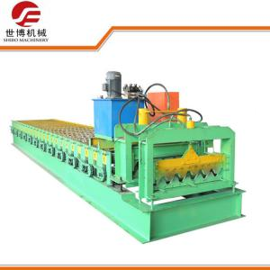 China Corrugated Roof Sheet Metal Forming Equipment With Full Automatic Control on sale