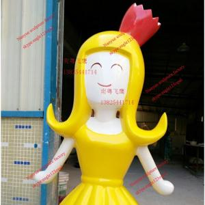 China japanese famous movie cartoon  statue of fiberglass colorful  for  garden model props on sale