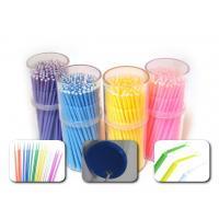 Plastic Disposable Dental Supplies Dental Micro Brush Applicator For Between Teeth