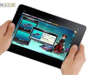 China Hi-quality AML8726 - MX Dual Core 1GB RAM 1024 * 768 WVGA 8 inch Android 4.0 Tablet PC supplier