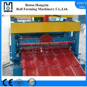 China Galvanized Roof Panel Roll Forming Machine , CE Roof Sheet Making Machine on sale