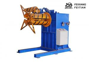 China FX-E Roll Forming Equipment Single Head Sheet Metal Decoiler Machine?/ Electric Uncoiler on sale