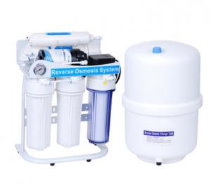 China 50GPD RO Water System Reverse Osmosis System For Drinking Water Treatment Machine on sale