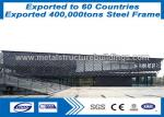 Galvanized Modular Prefabricated Steel Structures Metal Buidings With ISO