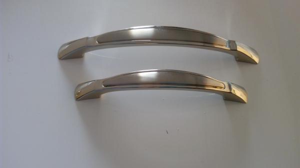 96/128 Mm Cabinet Door Handles Model 6011 Zamak Furniture Hardware Metal  Kitchen Images
