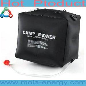 China Environmental Wholesale Traval Solar Shower Bag on sale