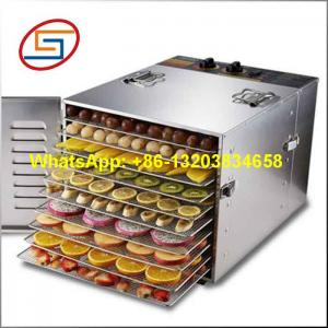 China Stainless steel food dehydrator with 10 trays on sale