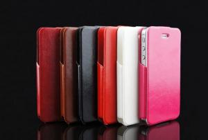 China Guangzhou professional pu leather phone cases for iphone 5/5s 5c on sale