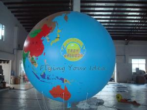 China Durable Earth Balloons Globe on sale