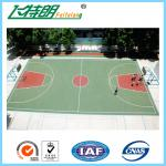 Athletic Standard Playing Surface Court Basketball Gym Flooring Slip Resistance
