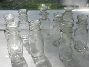 China wholesale clear square glass spice bottle,glass jar for spice on sale