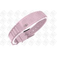China Pink Ceramic 316L Stainless Steel Bracelets , stainless steel men's bracelet on sale
