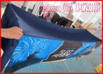 China Promotional 8ft 240g Printed Spandex Tablecloths , Stretch Tablecloths Customized Made Logo wholesale
