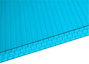 China Green 10mm Thickness Honeycomb Polycarbonate Panels 10 Year Warranty on sale