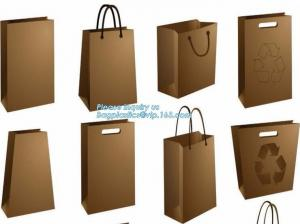 China Luxury big size garment paper shopping bag with handle,kraft paper shopping bag for cloth,fancy luxury printed recycled on sale