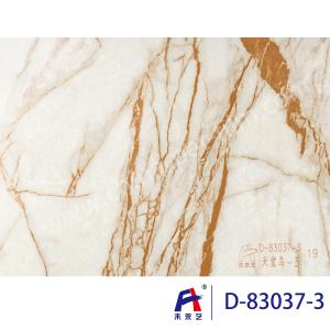 China Durbale Marble Grain Pvc Film Roll Suitable Wall Panel Convenient Construction on sale