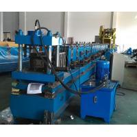 PLC Control Rack Roll Forming Machine Upright Shelf Making Equipment
